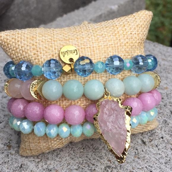 68f6c3f0c Jewelry | Arrowhead Bracelet Stack Set Of 4 One Is Erimish | Poshmark